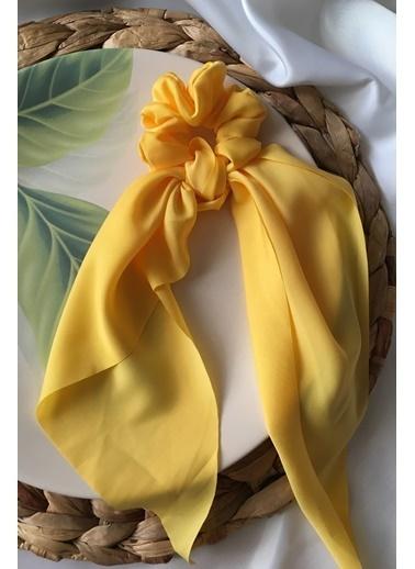 My Joyas Design Sarı Uzun Fiyonklu Toka Sarı